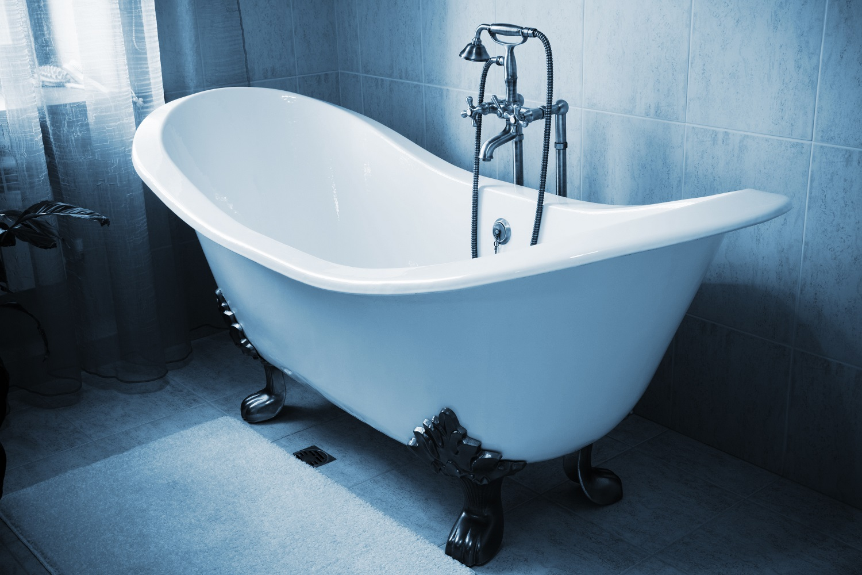 71″ Cast Iron Double Slipper Tub