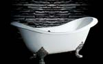 Canyon Bath clawfoot double slipper tubs