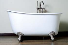 Cast iron swedish tubs