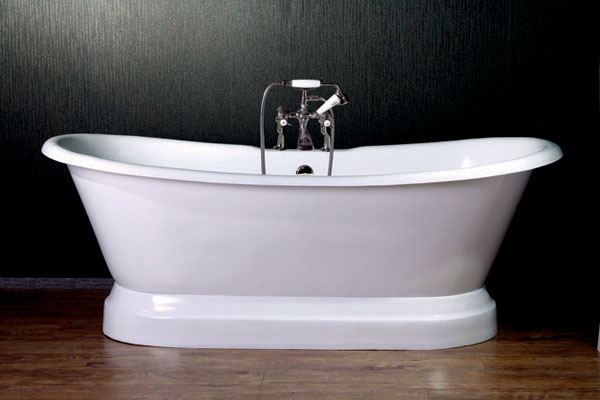 Ds710 Pds711 P 71 Cast Iron Double Slipper Tub With Pedestal